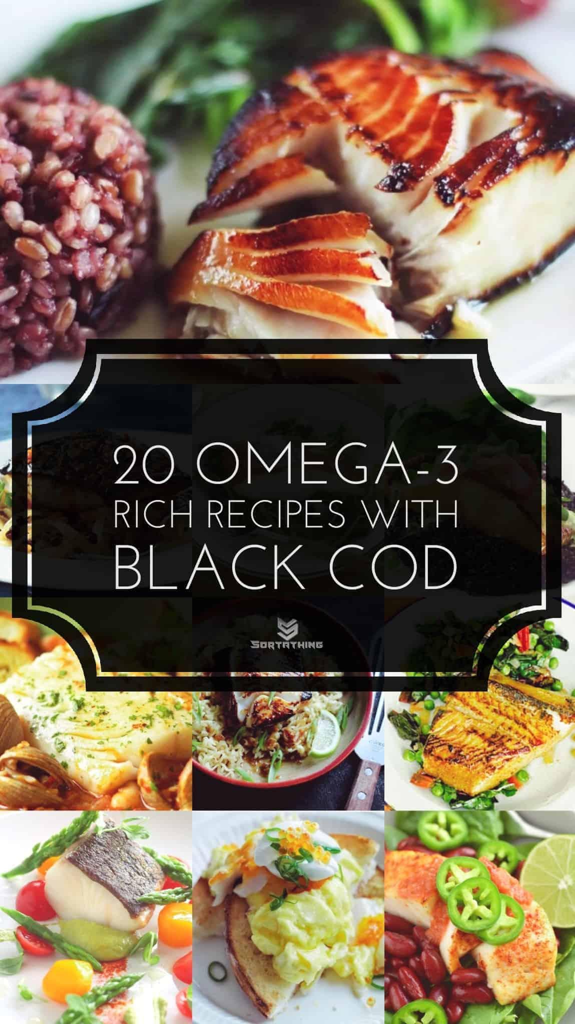 20 Omega-3 Rich Black Cod Fish Recipes