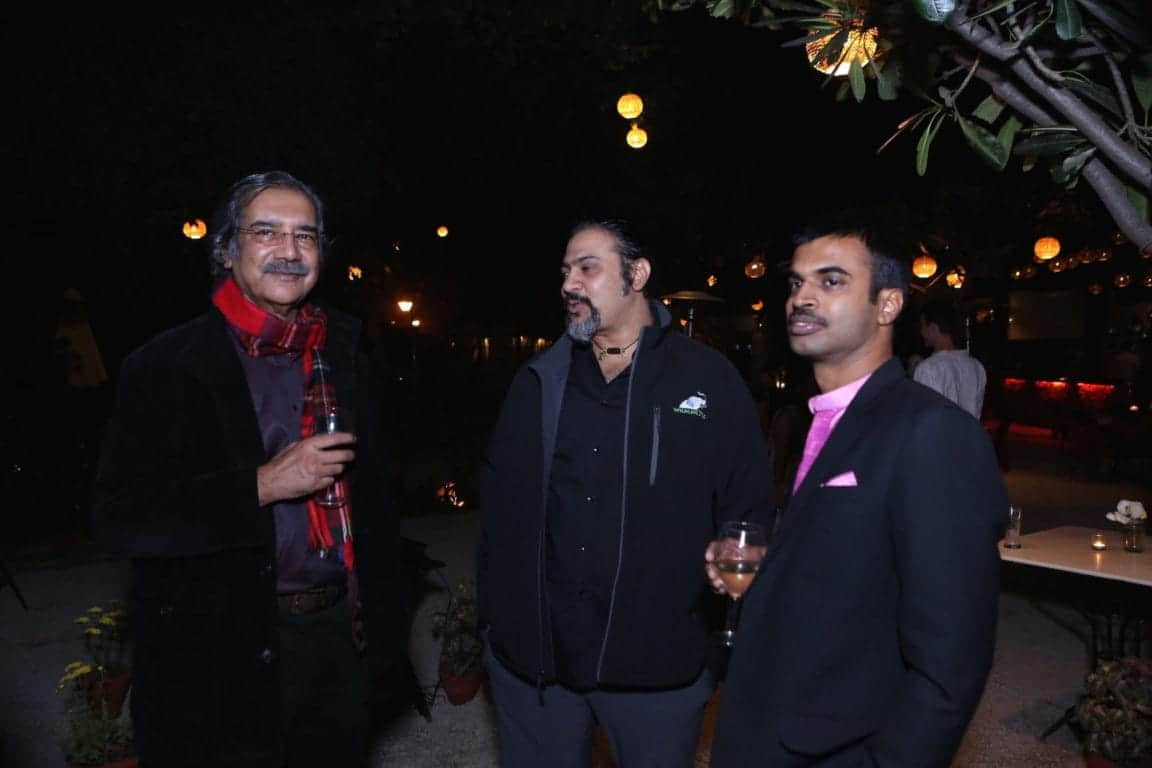 Mike Pandey (Wildlife Conservationist) with Karthik Satyanarayan, Co-Founder, Wildlife S.O.S.