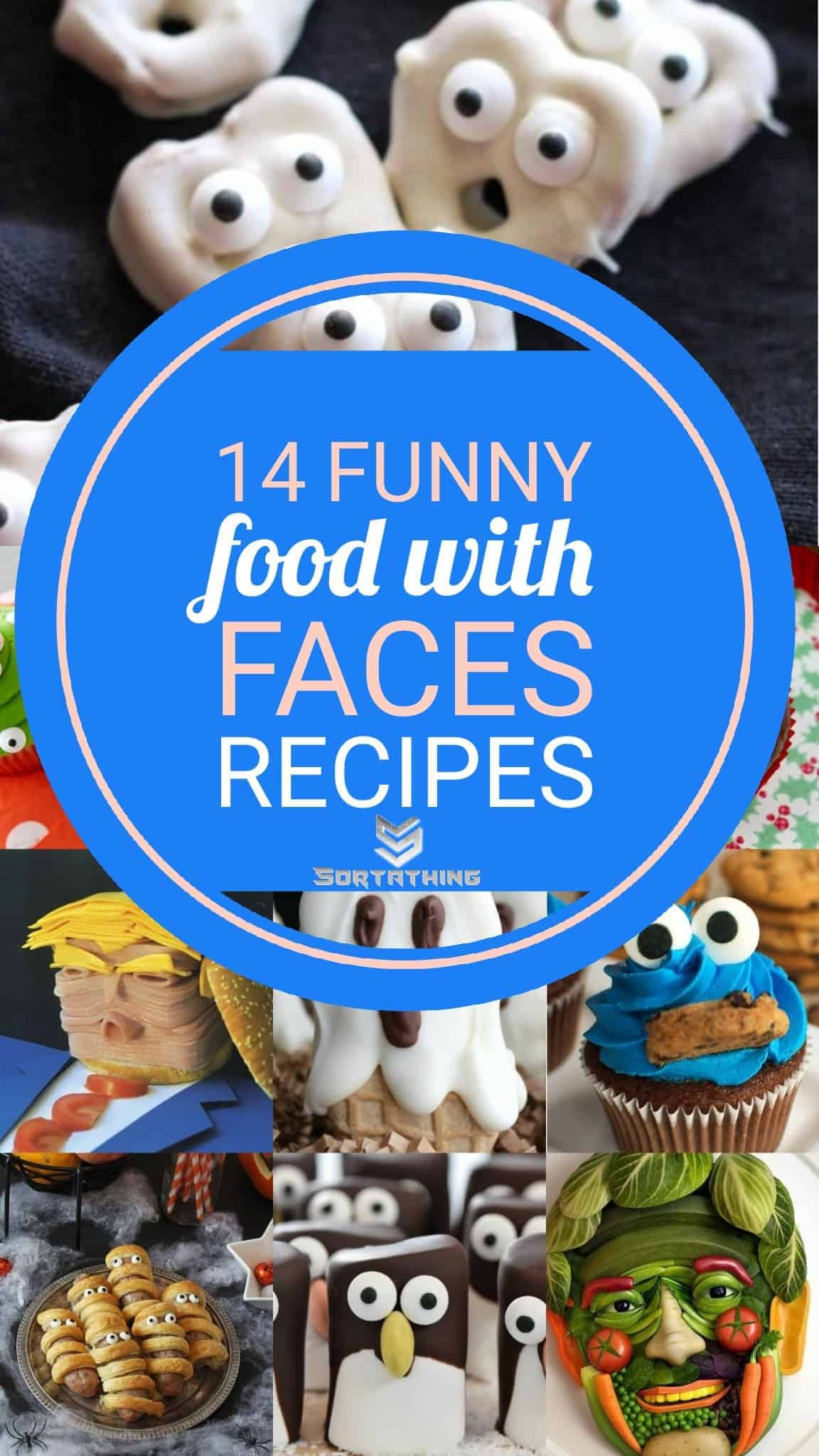 14 Funny Food with Faces Recipes