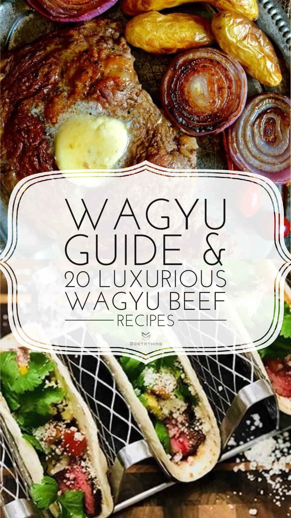 Wagyu Beef Ribeye with Truffle Butter and Wagyu Beef Tequila Tacos