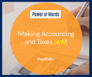 Accountants website copy