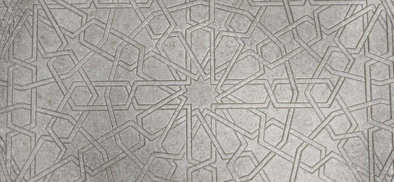 Concrete Mandala Table