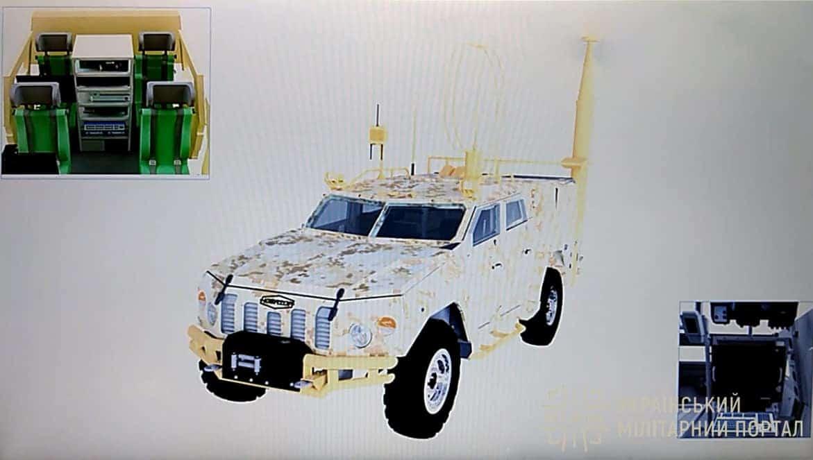 Командна машина управління Машина ретрансляції і зв'язку