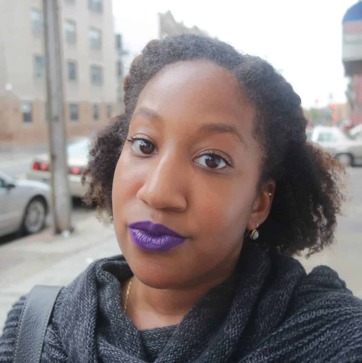 Colourpop Bedazzled - best fall lipstick colors for brown skin