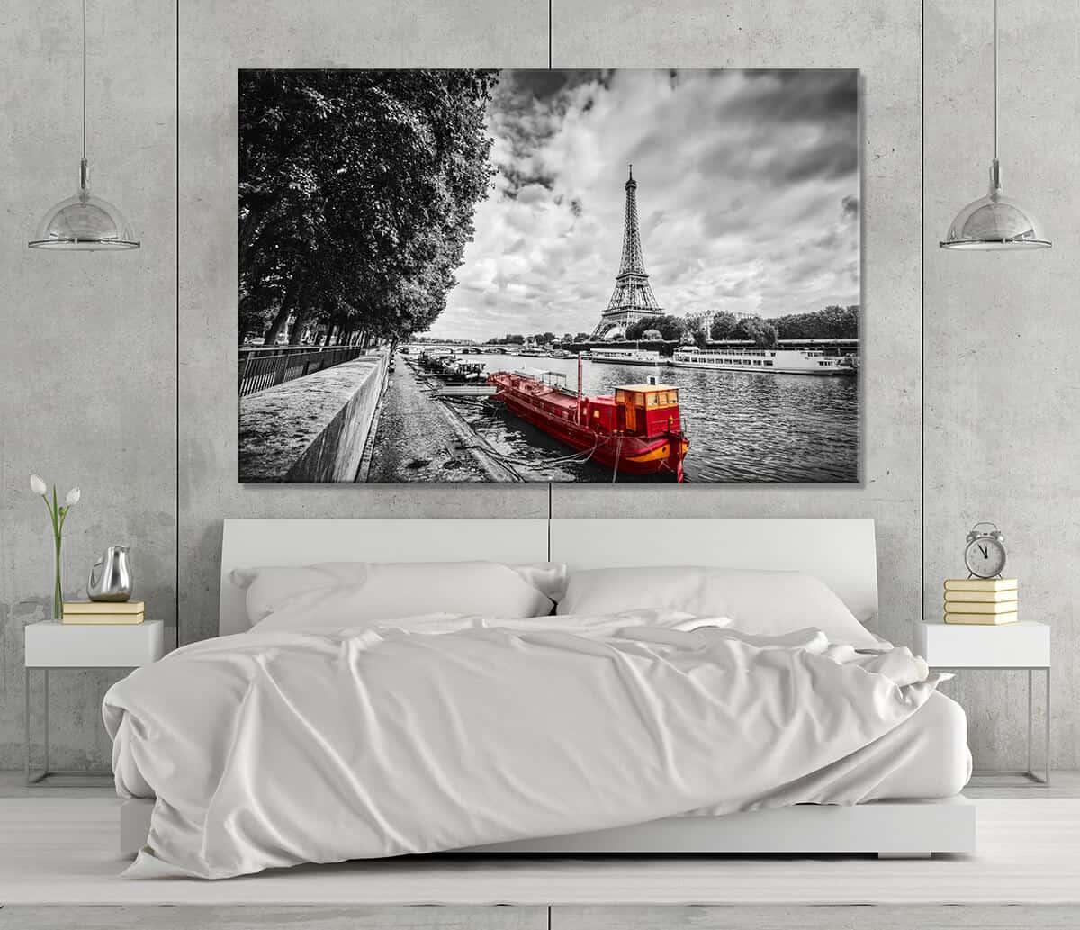 Wieża Eiffla - Obraz na płótnie