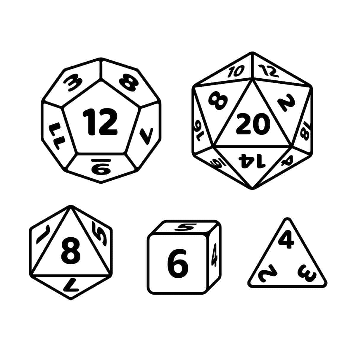 d20 random tables RPG Wilderness Encounters