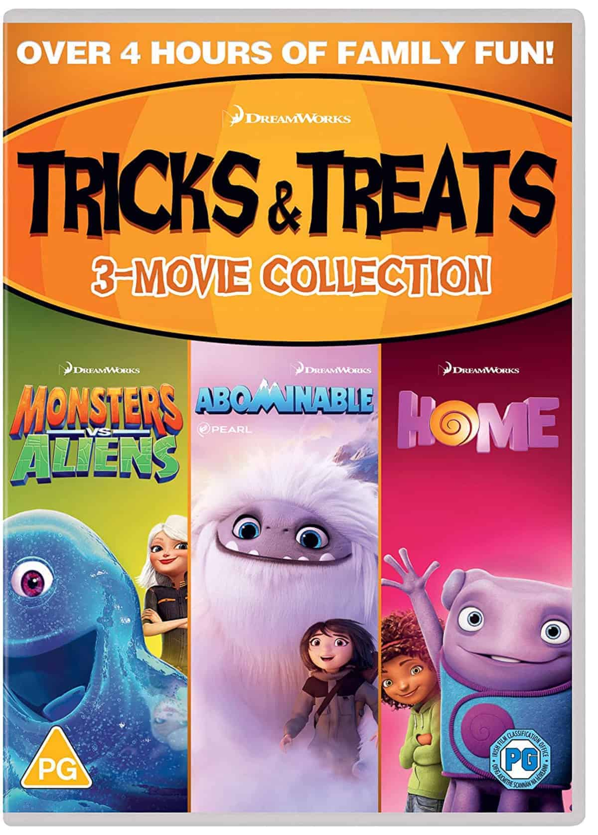 The Tricks and Treats DVD Collection.