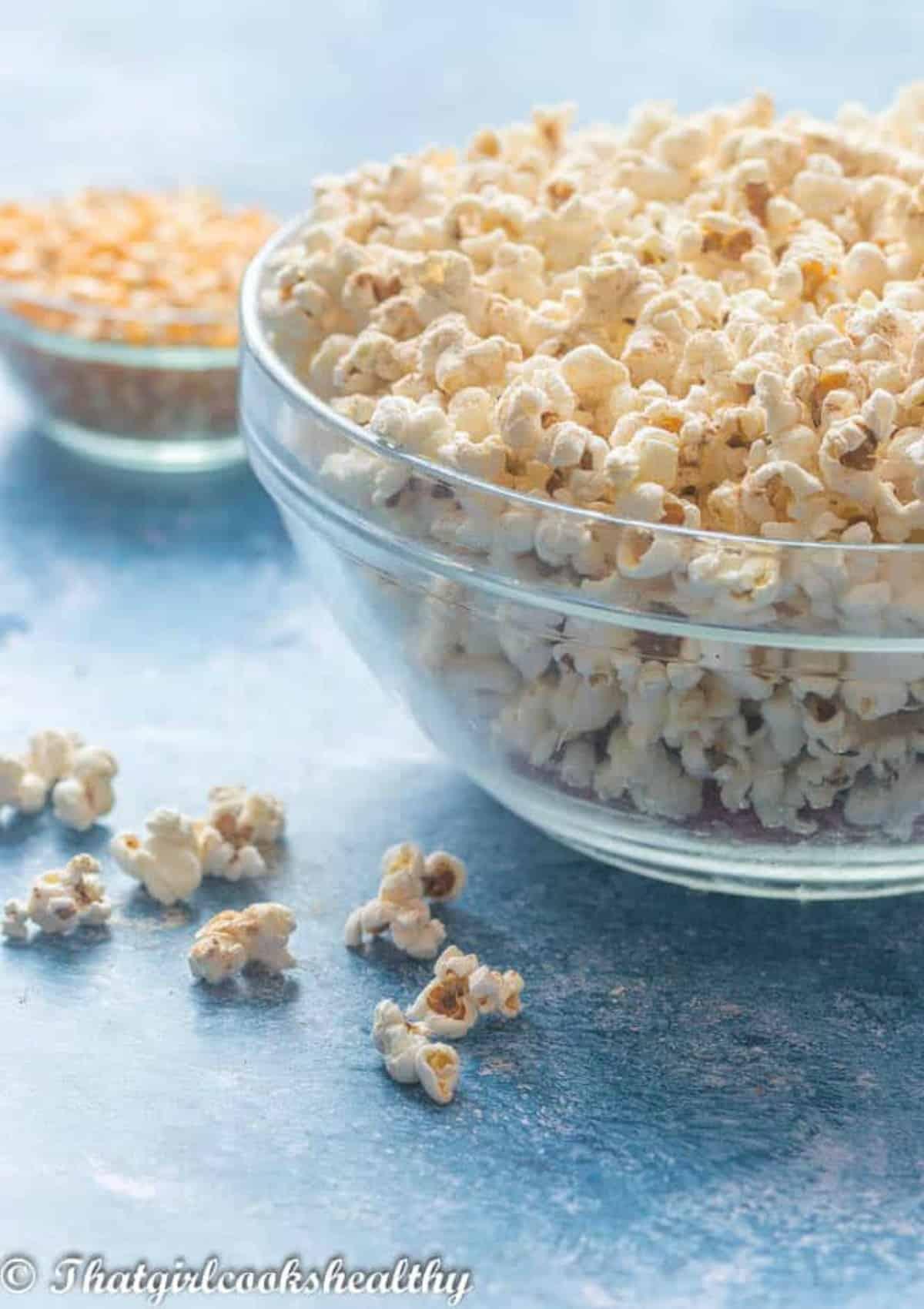 popcorn with random scattered kernels