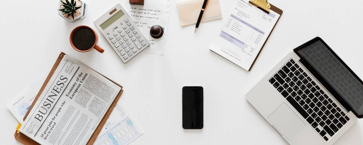 Small Business Accounting Desk Image
