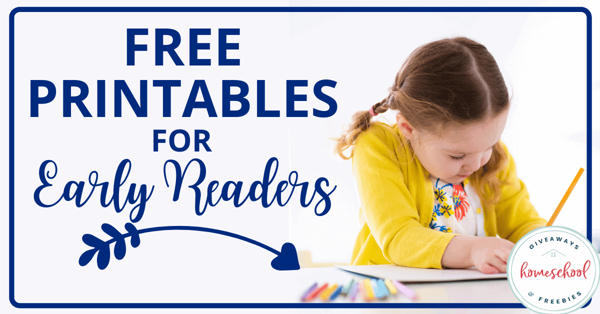 Free Printables for Early Readers. #printableearlyreaders #earlyreaders #emergentreaders #freeearlyreaders #printableemergentreaders