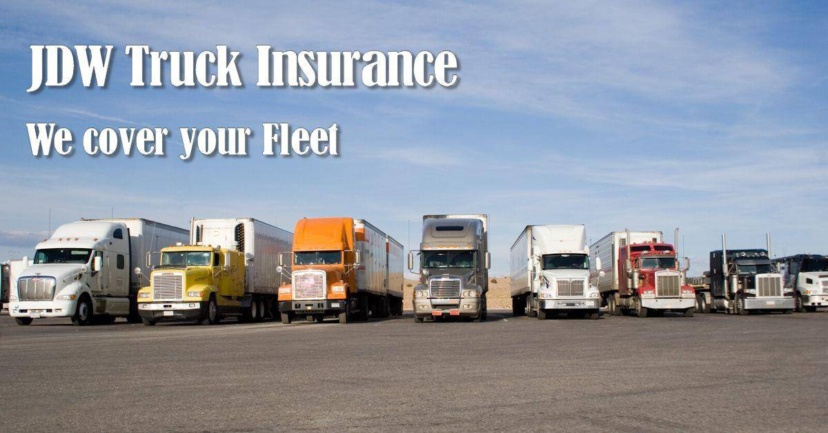 Commercial truck insurance fleet
