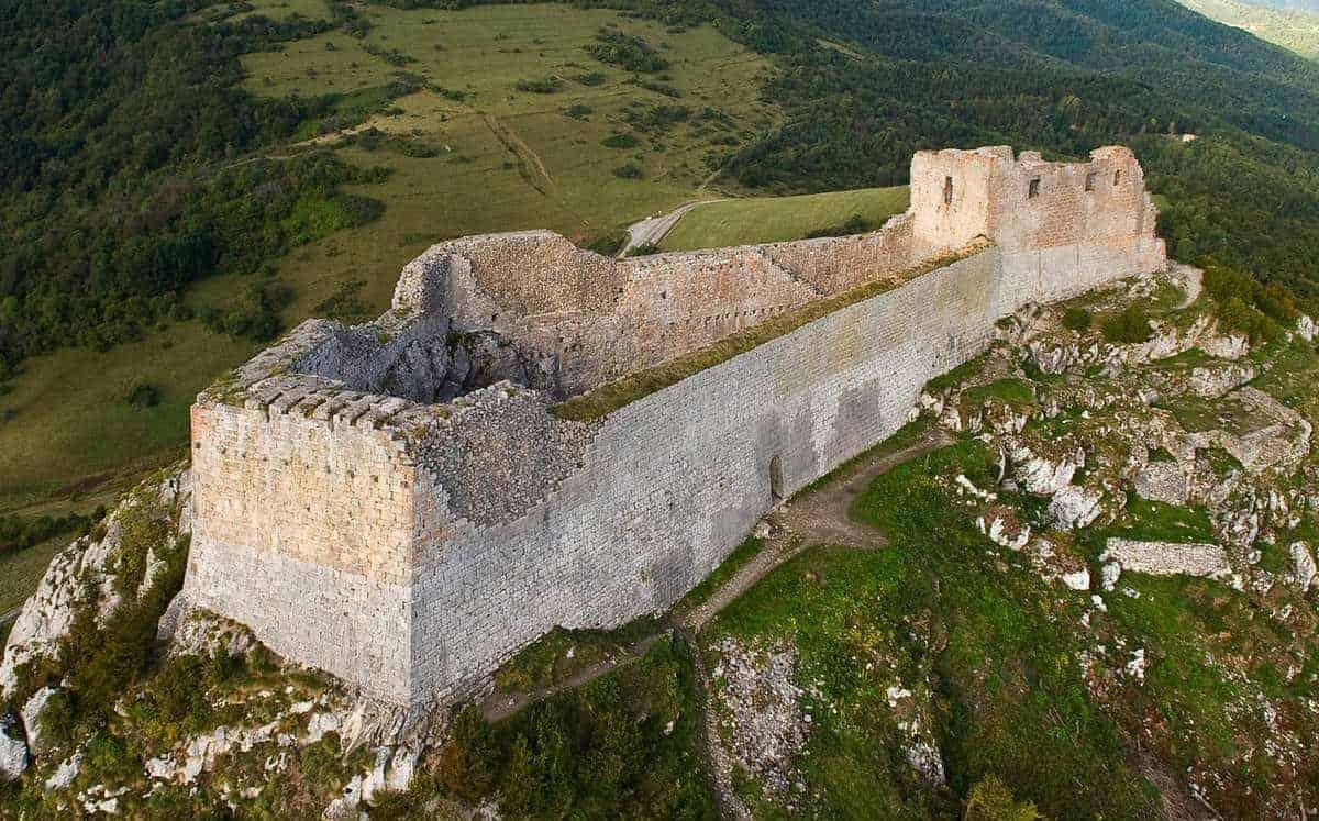 Monsegur Cathar Castle