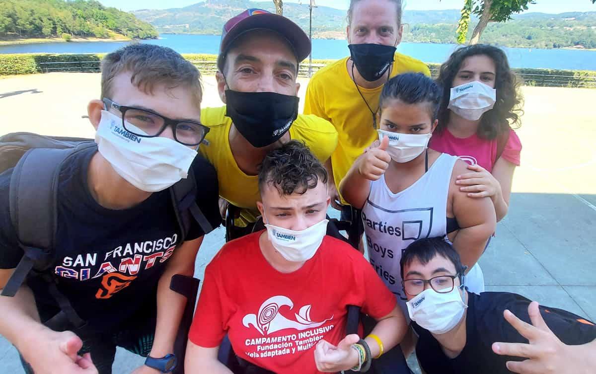 9º Campamento Inclusivo de Fundación También en el complejo de O´Corgo (Muiños-Ourense)