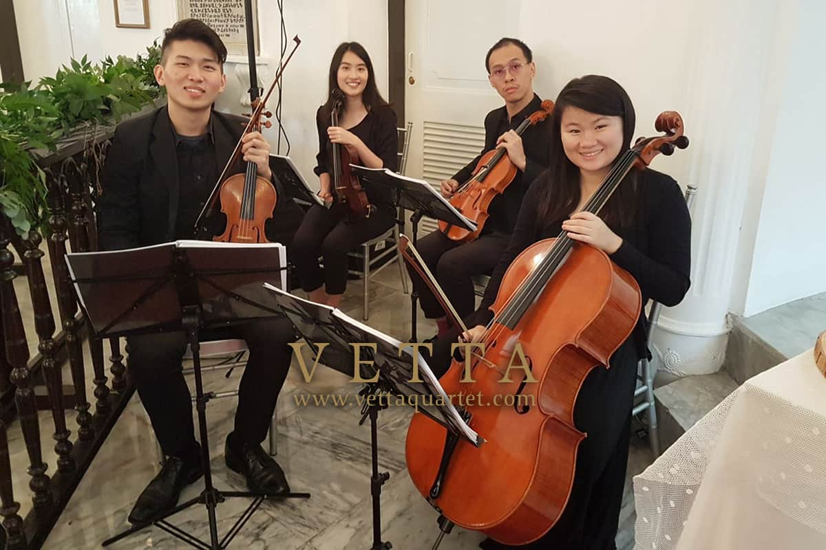 Mix gender String Quartet for Wedding at Armenian Church