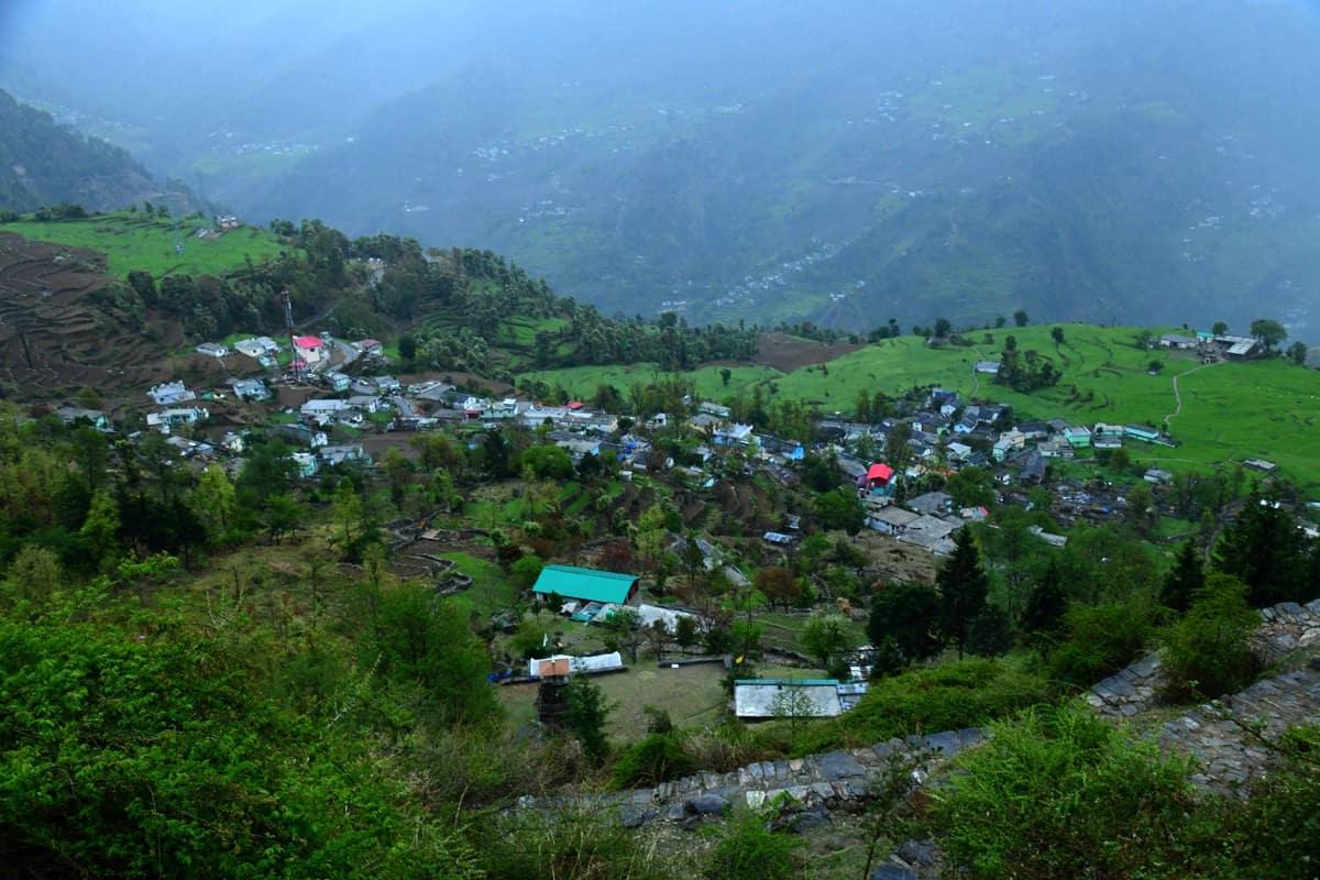 Sari Village in Rudraprayag District ,Near Chopta, Ukhimath