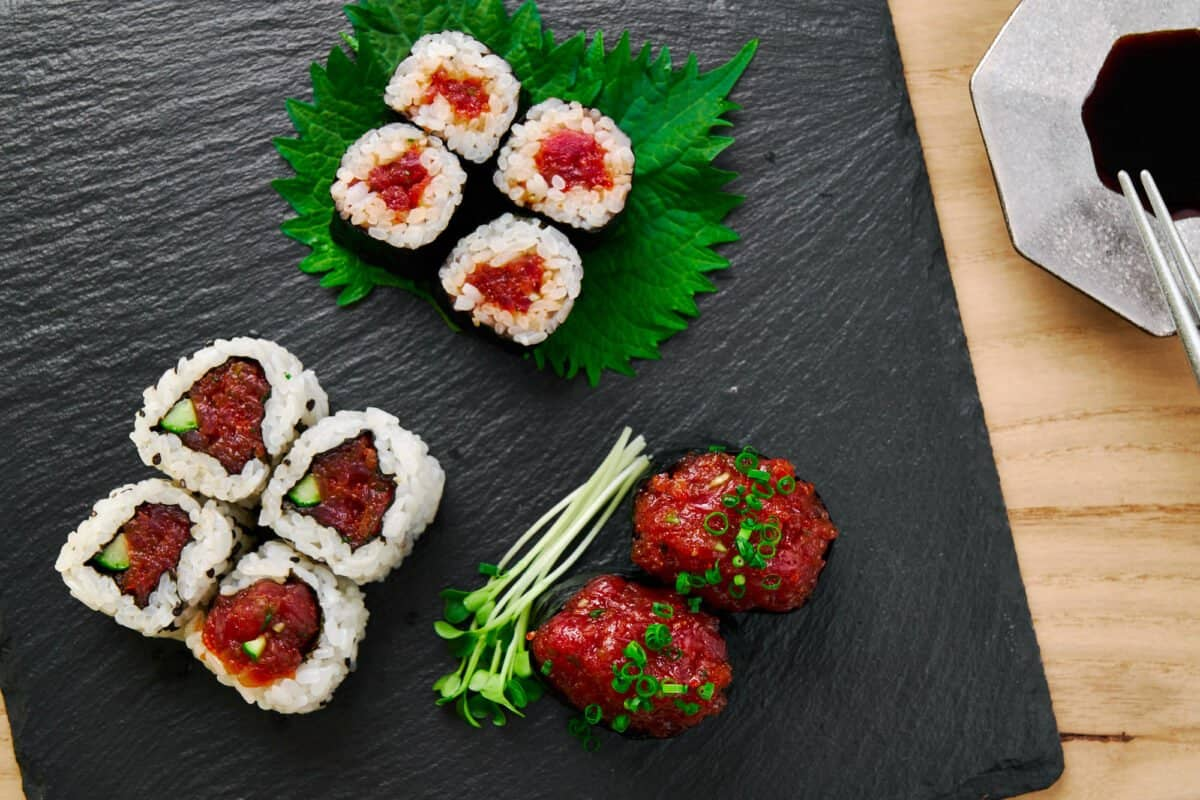 Learn how to make three different styles of spicy tuna roll, just like your favorite sushi restaurant.