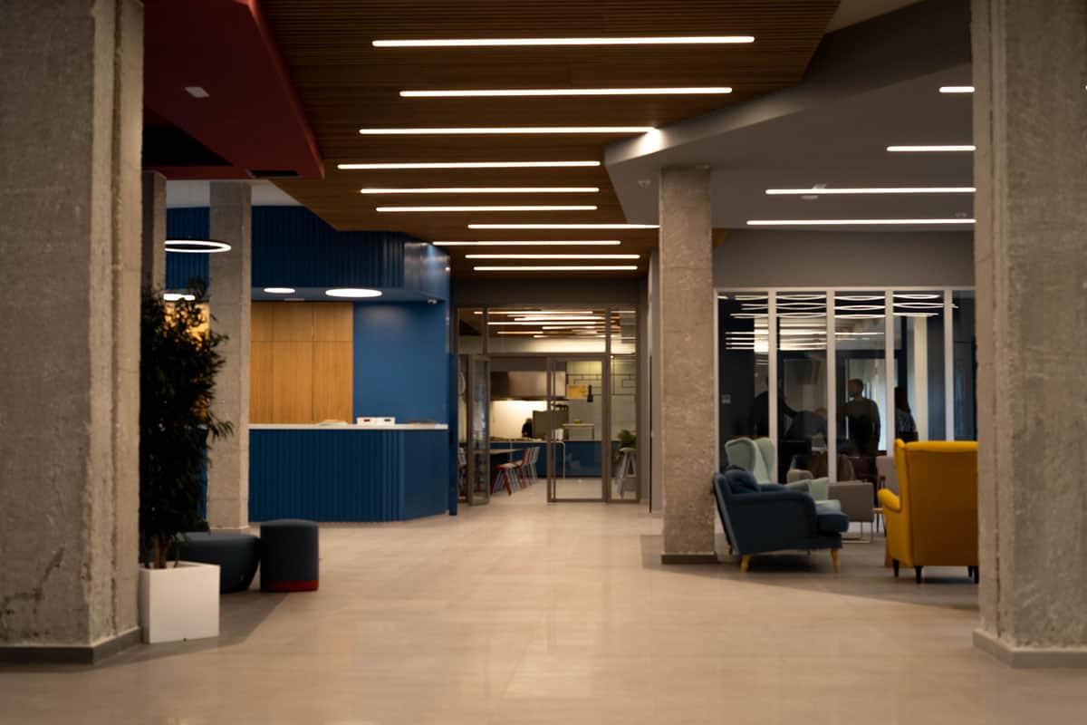 instalaciones, zonas comunes, residencia universitaria en malaga, Rut