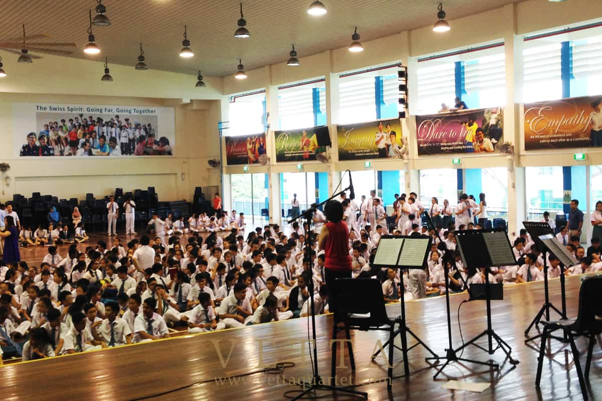 Educational Outreach at Swiss Cottage Secondary School