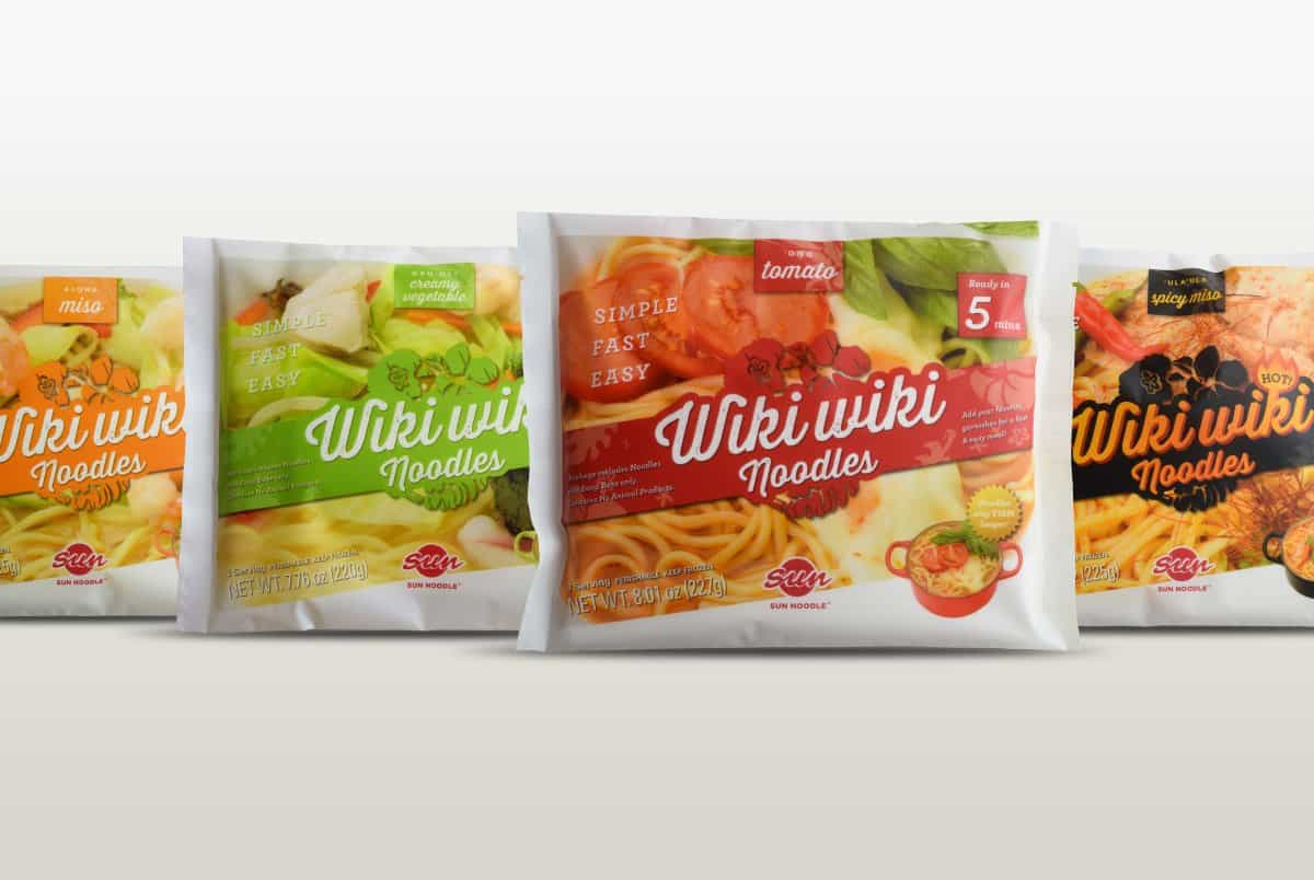 WikiWiki Noodle Packages