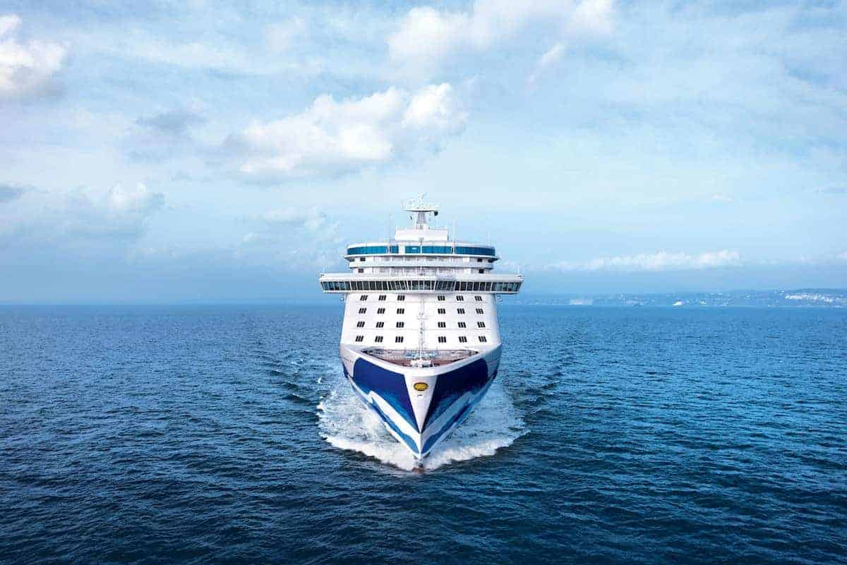 Regal Princess at Sea