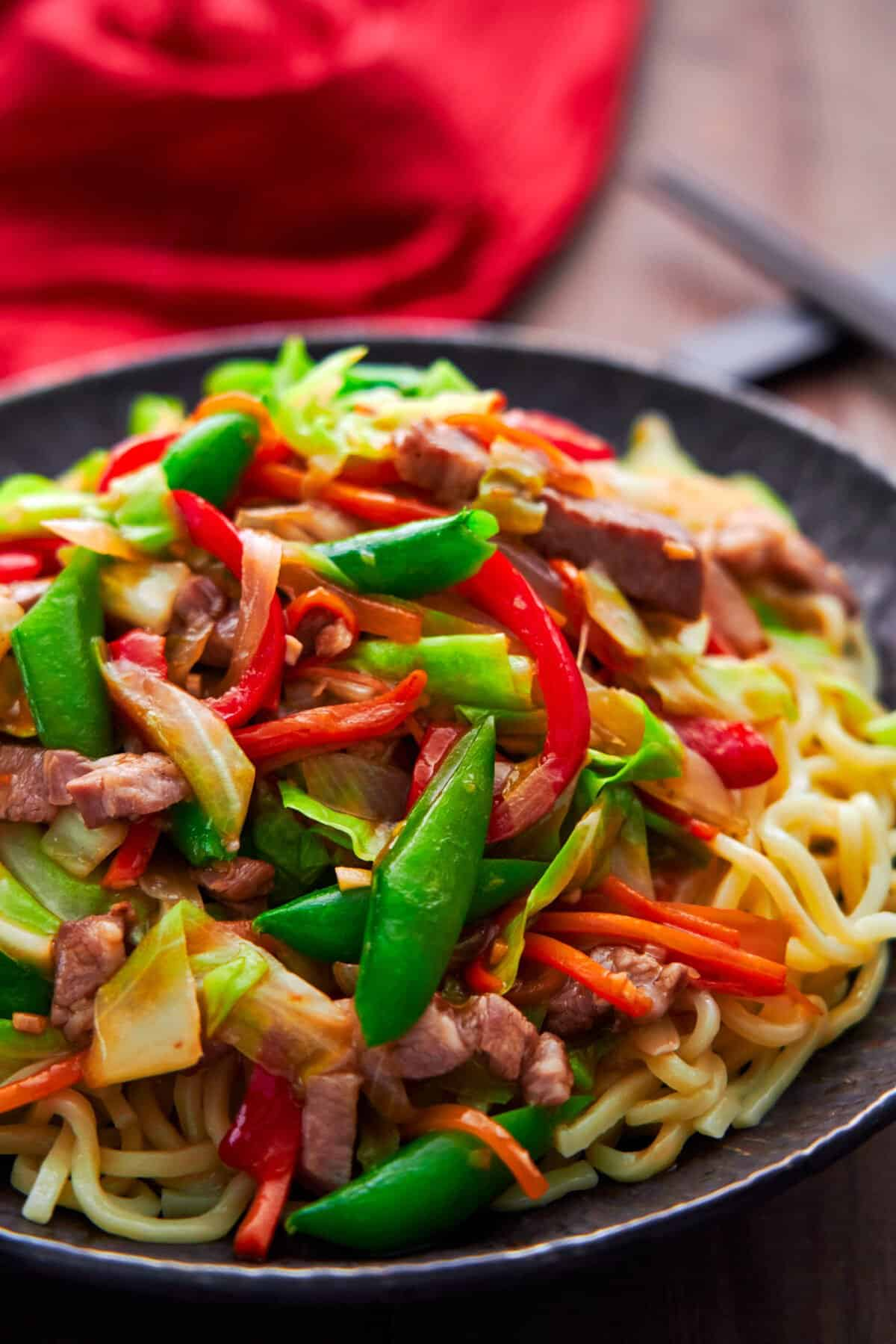 With loads of veggies and tender, juicy meat enrobed in a savory gravy, this easy Chop Suey recipe updates the classic Chinese-American favorite.