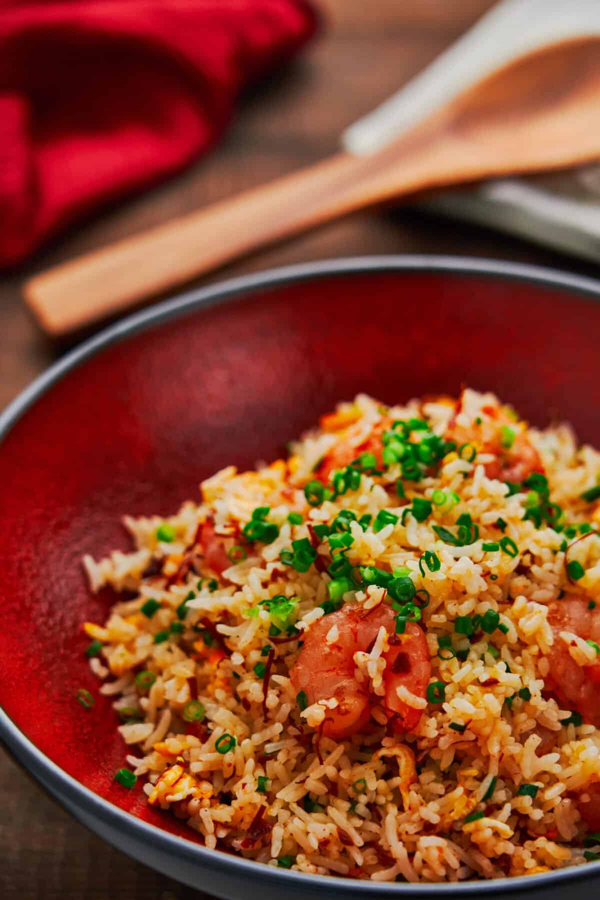 Fried rice is such a basic recipe, but there are a few tricks that can take it to the next level. Here are my secrets for making the best shrimp fried rice!