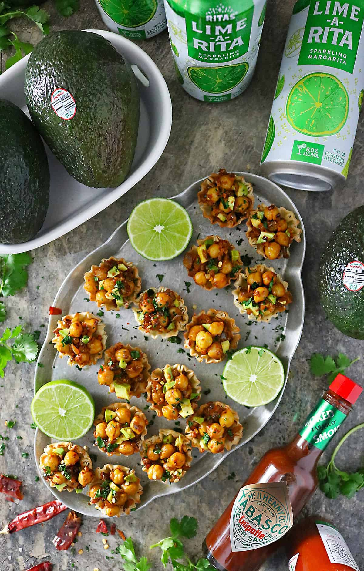 Image of TABASCO RITAS Avocados From Mexico for Game Day