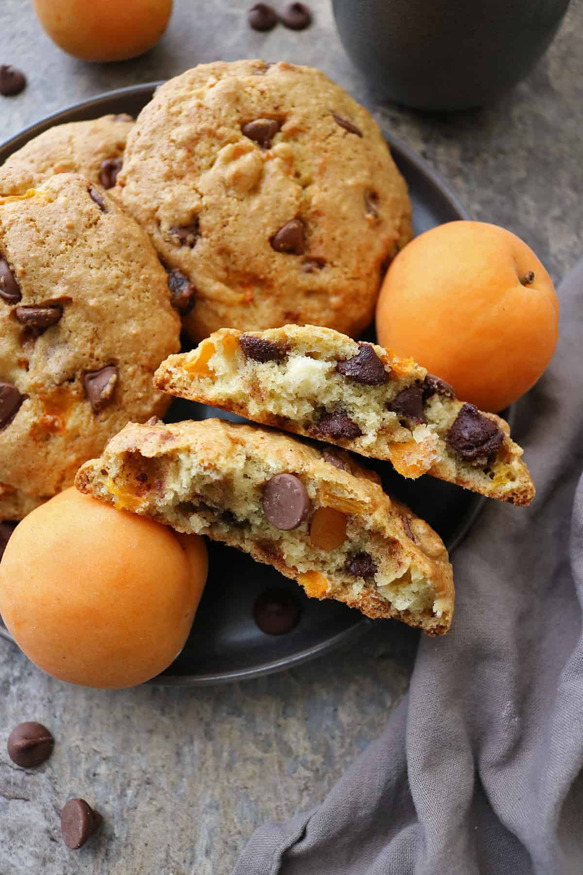 You need these chocolate apricot muffin tops for your next weekend brunch party!