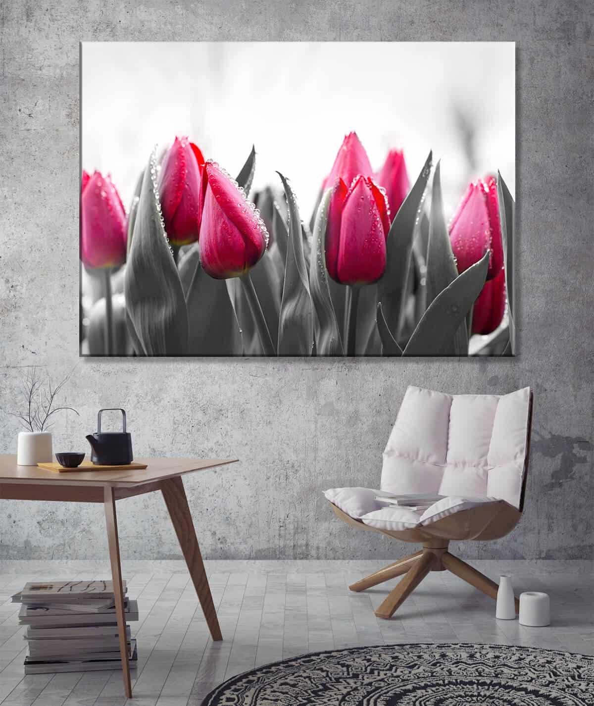 Obrazy do minimalistycznego salonu