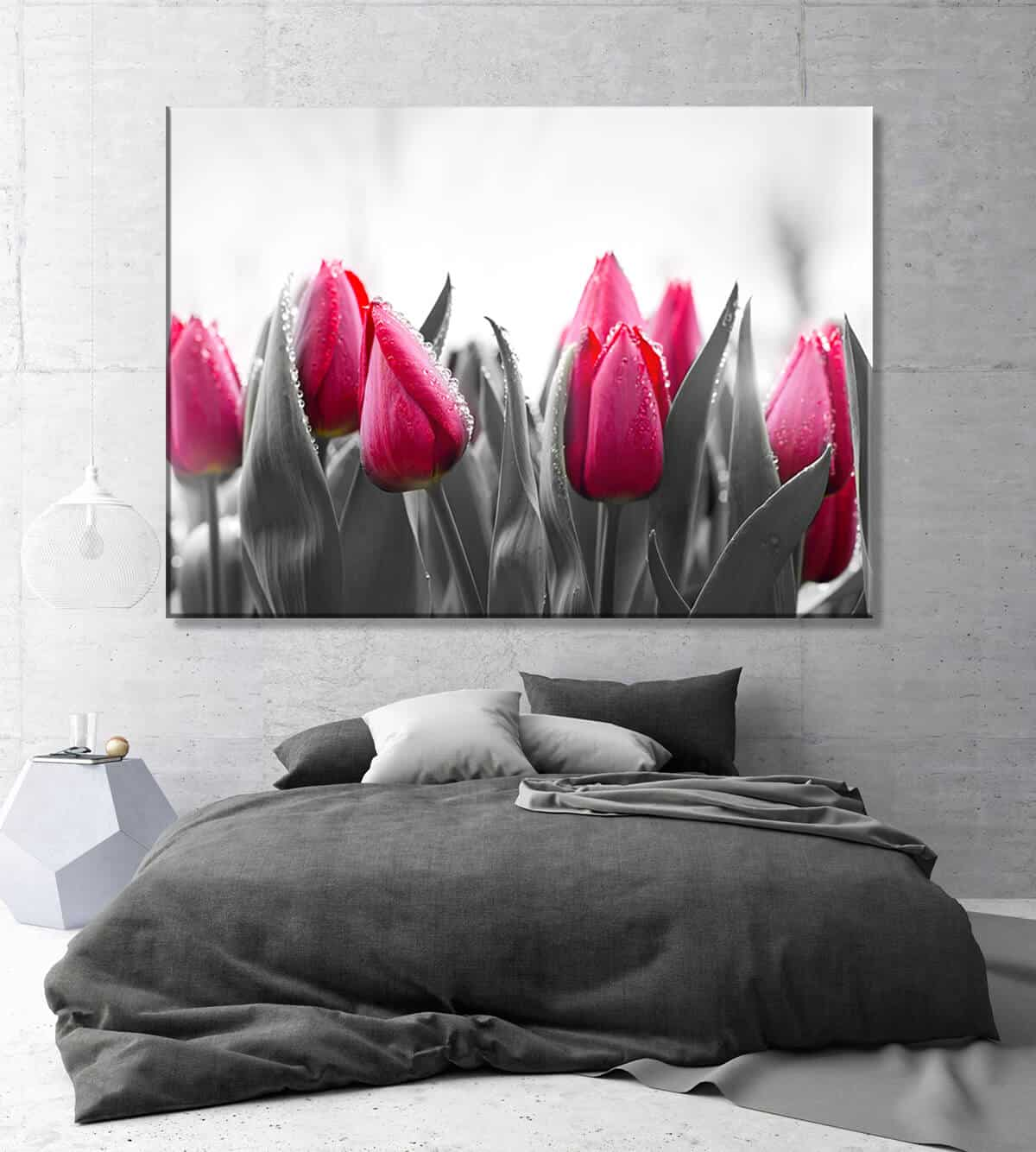 Obrazy na płótnie do sypialni Kwiaty