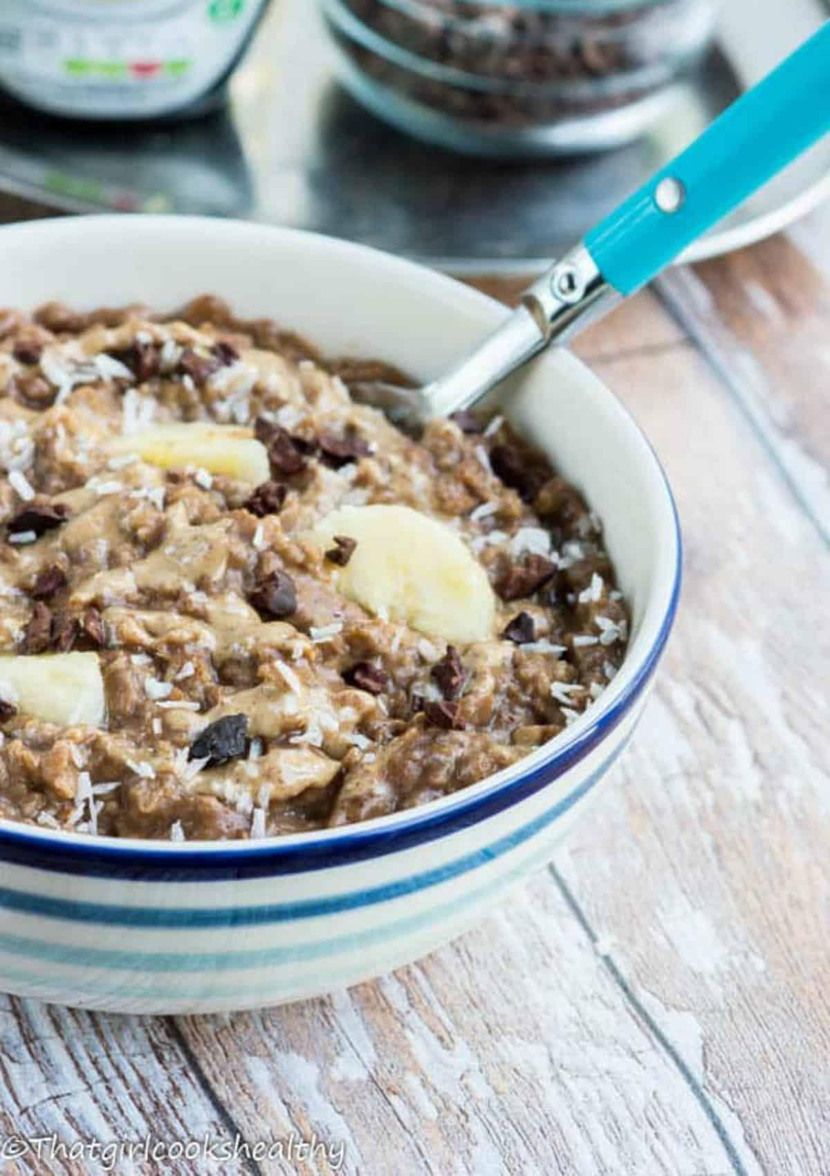 Half a bowl of porridge