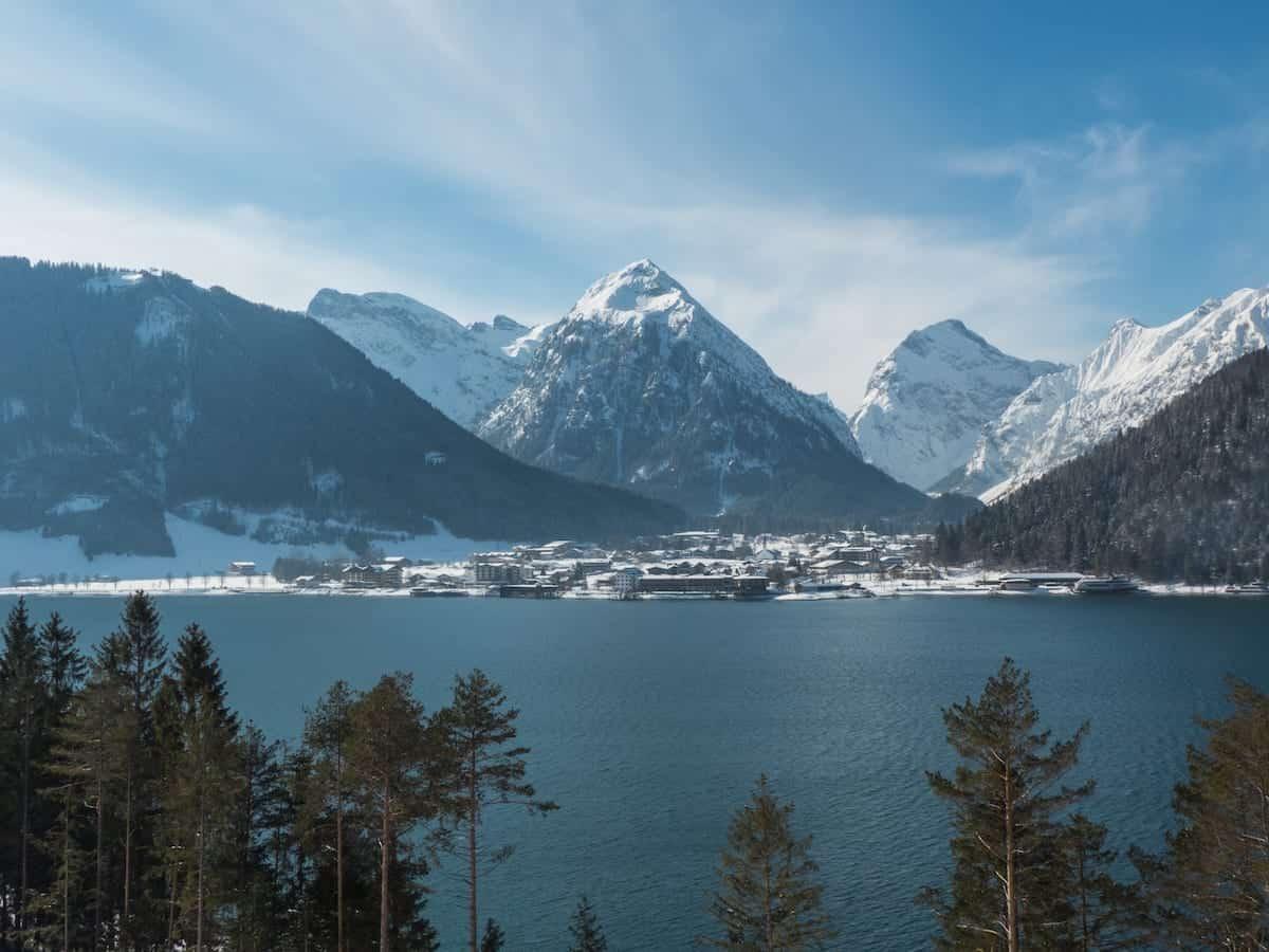 Langlauf und Wandern am Achensee im Winter - Titelbild