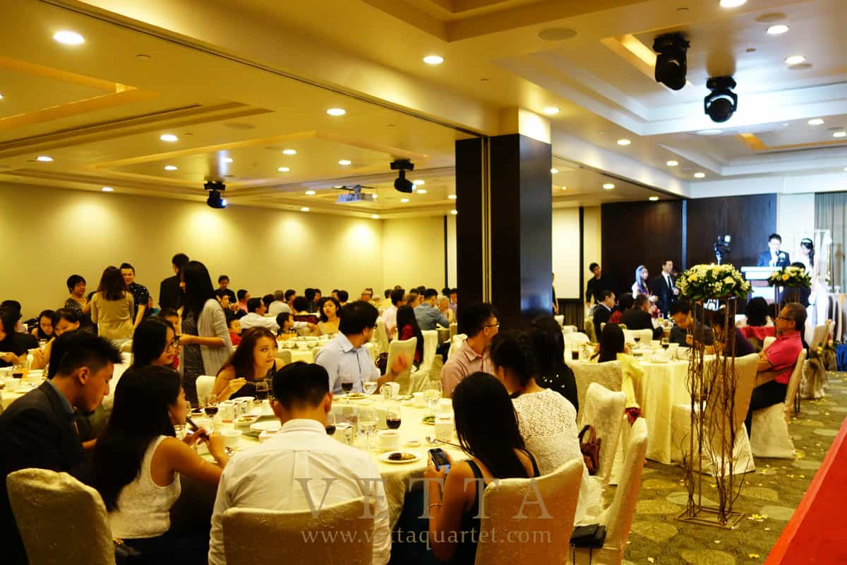 Live Band for Dinner Banquet at Grand Copthorne Waterfront Hotel