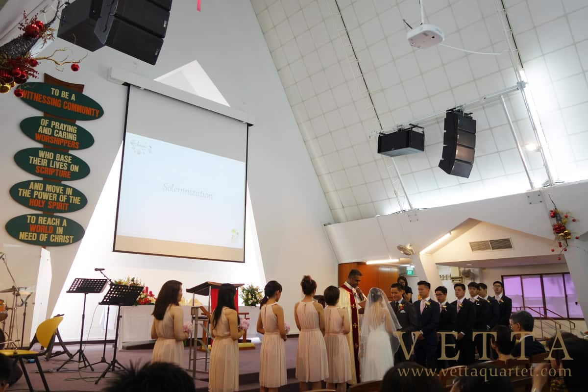 Singapore Wedding at St John's - St Margaret's Church