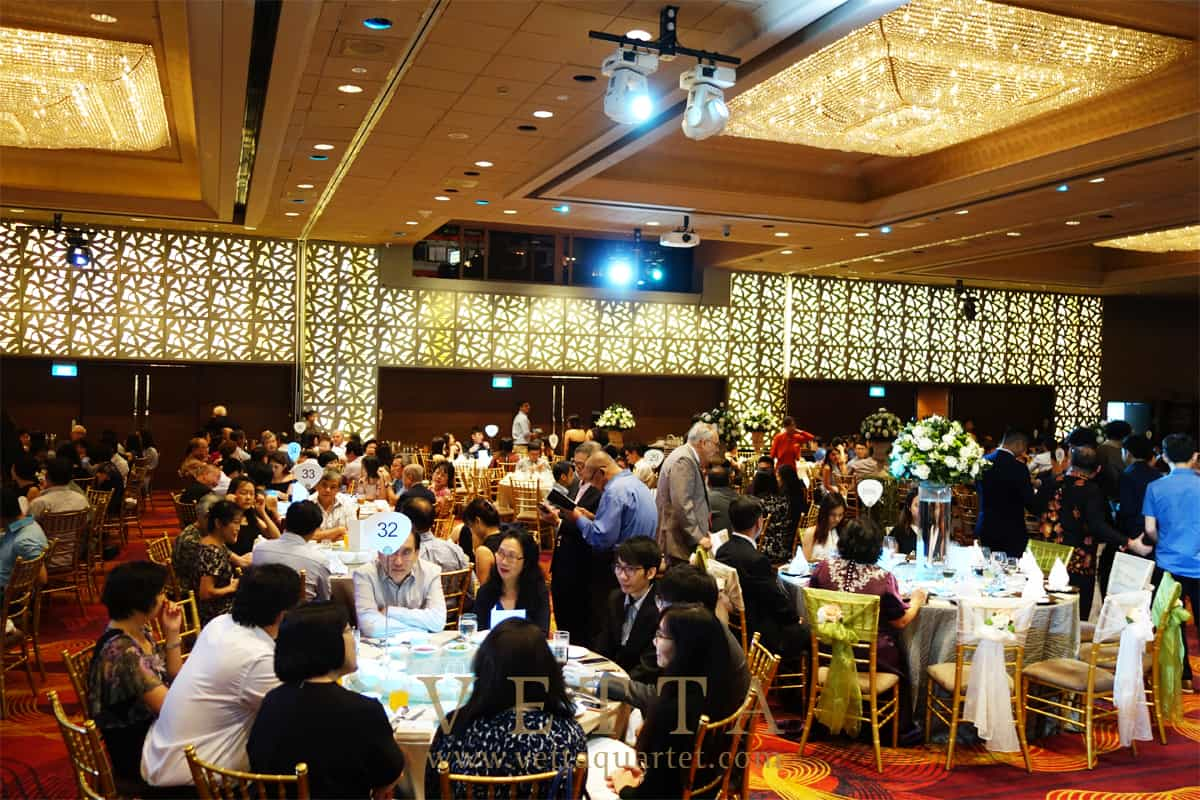 Singapore Wedding at Mandarin Orchard
