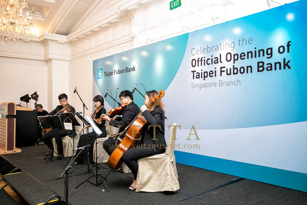 fficial Opening of Taipei Fubon Bank Singapore Branch at Fullerton Hotel