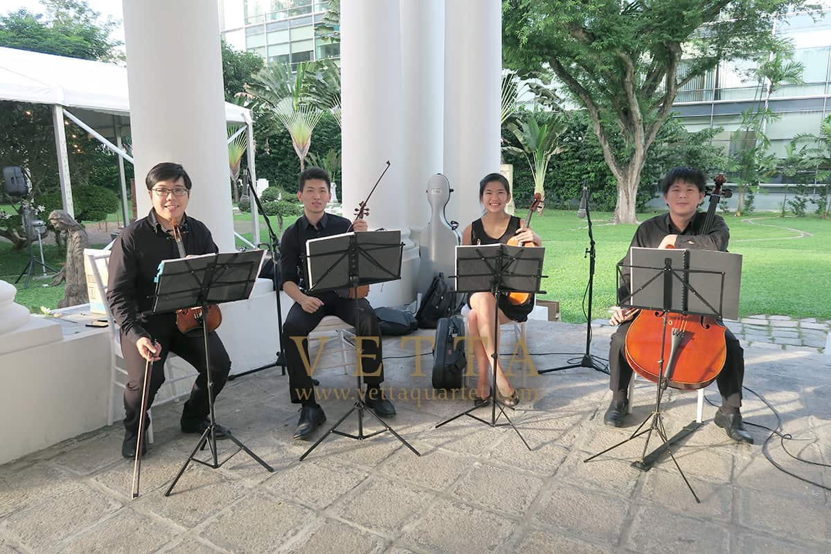 String Quartet for Wedding at Armenian Church