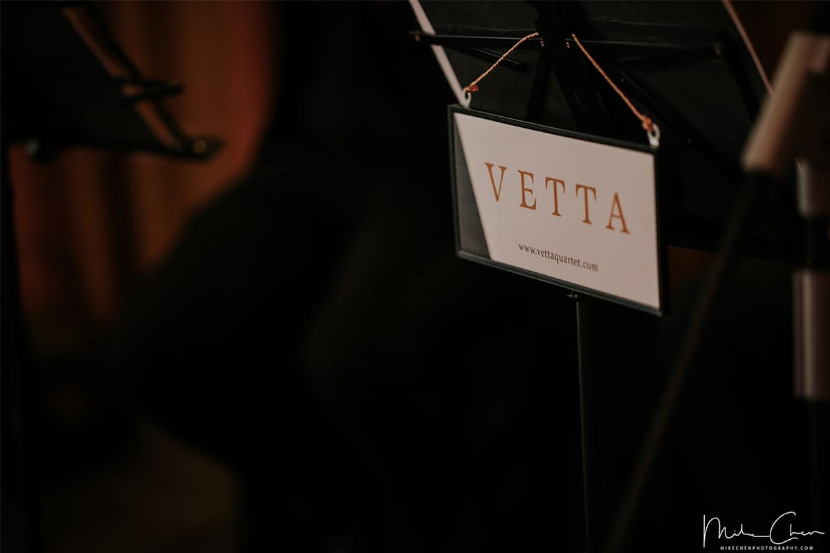 VETTA String Quartet for Wedding at Ritz Carlton