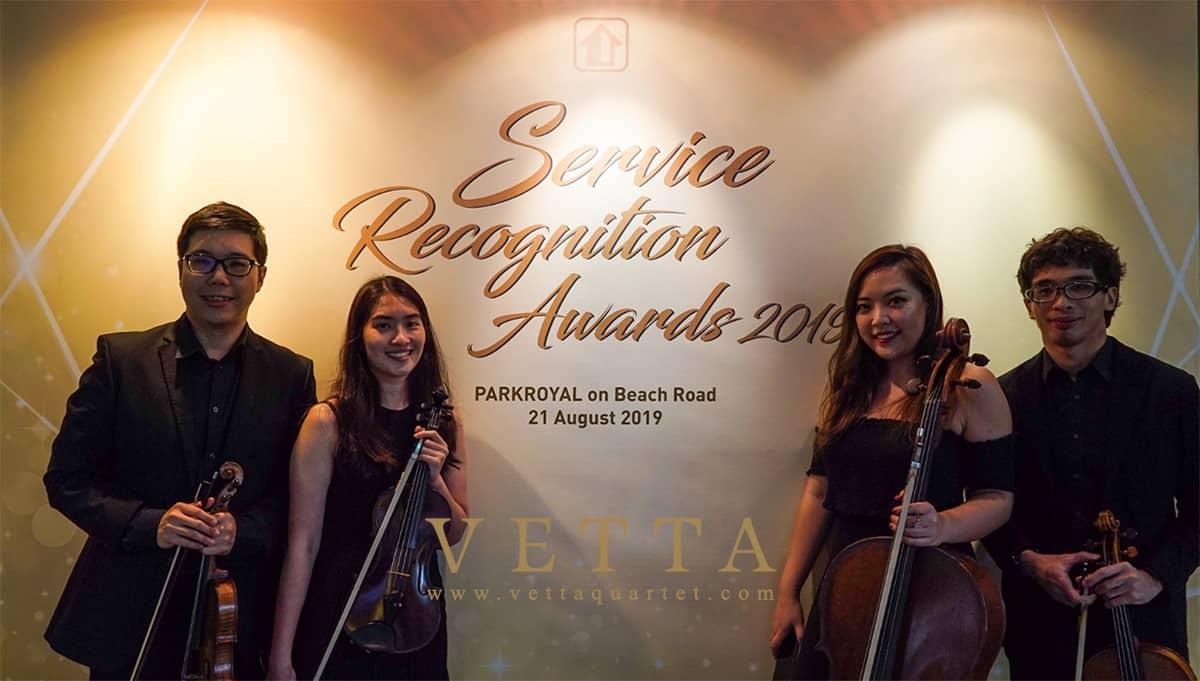 String Quartet for Service Recognition Award 2019