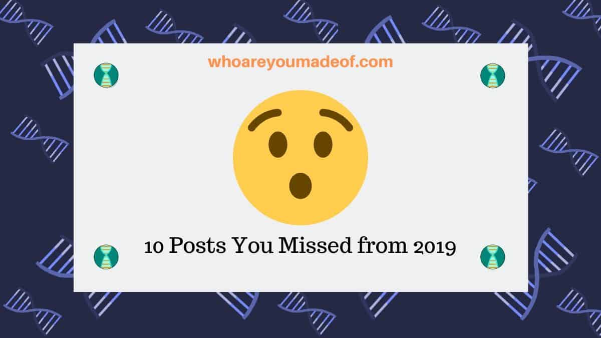 10 Posts You Missed from 2019