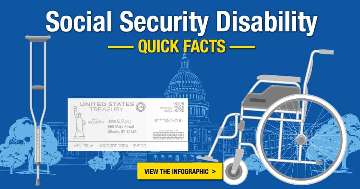 Social Security Disability Quick Facts