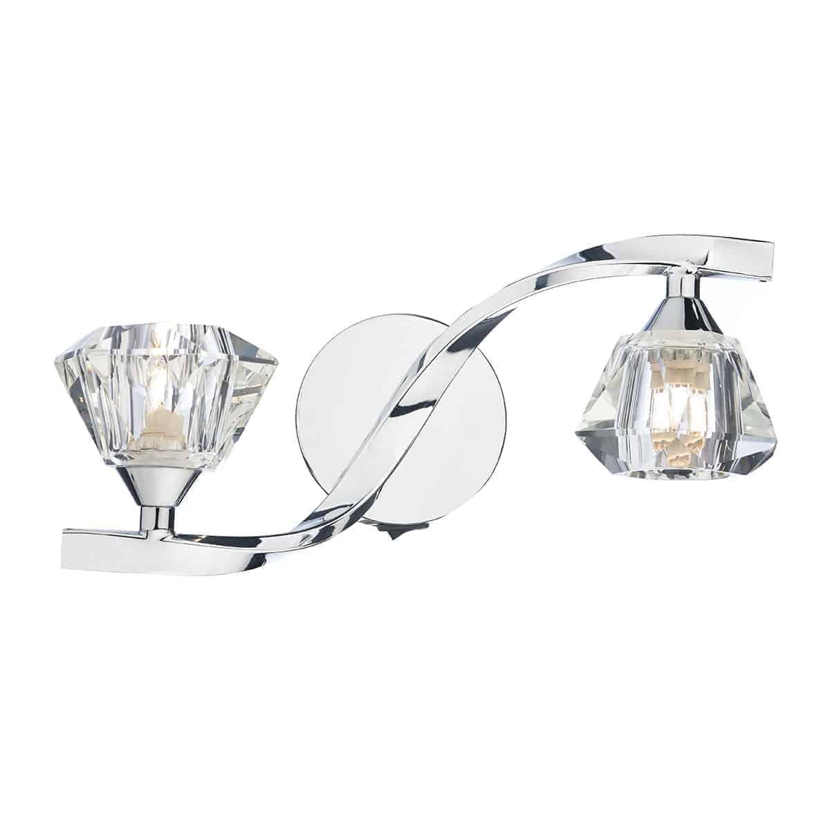 Där ANC0950 Ancona Double Wall Bracket Polished Chrome