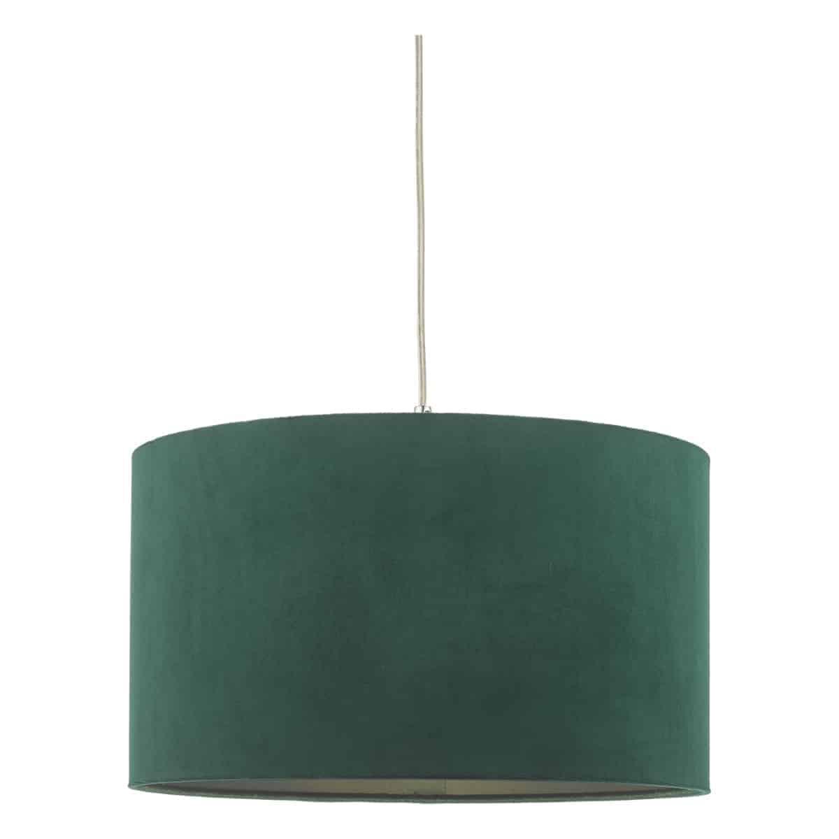 där AKA6524 Akavia Velvet Easy Fit Pendant Green