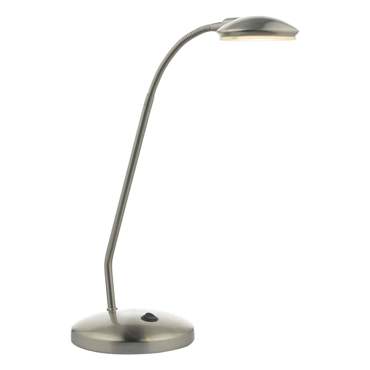 Där ARI4046 Aria Task Lamp Satin Chrome LED