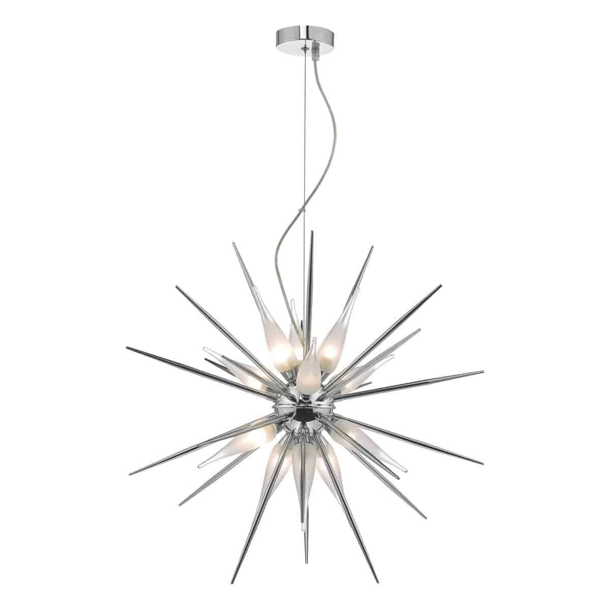 Där VAS1250 Vasiliy Pendant Polished Chrome