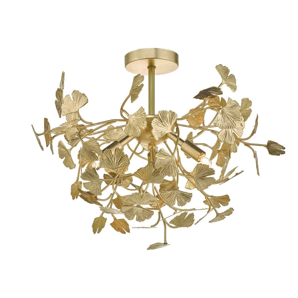 Där YAD0435 Yadira Semi Flush Gold