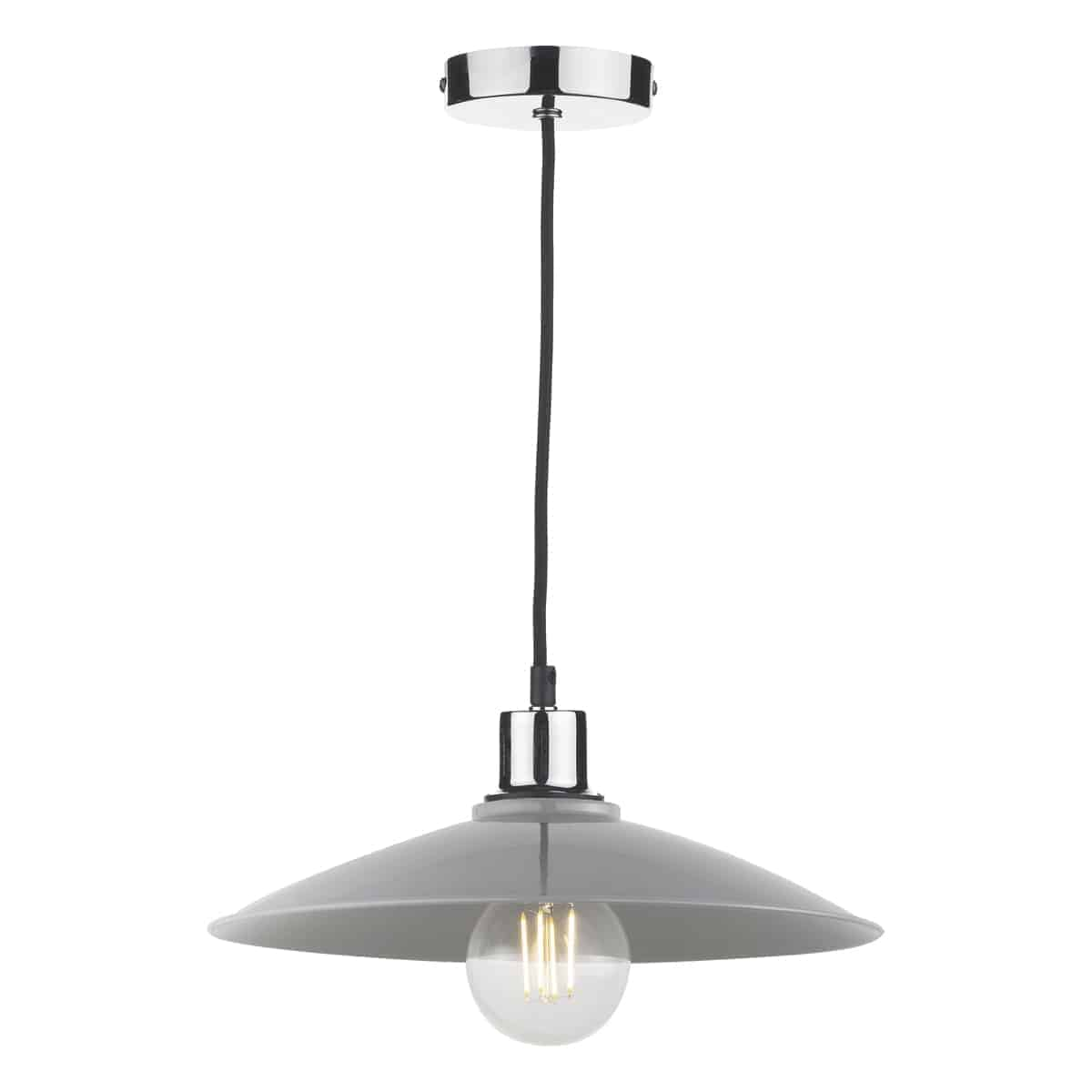 Där YIF6539 Yifat Easy Fit Pendant Grey