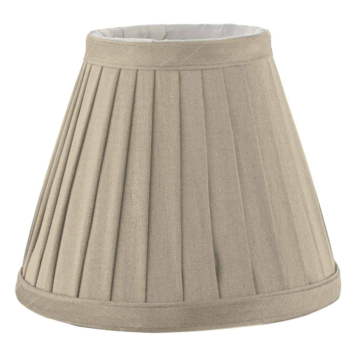 Där YOV0529 Yovanna Pleated Shade Taupe