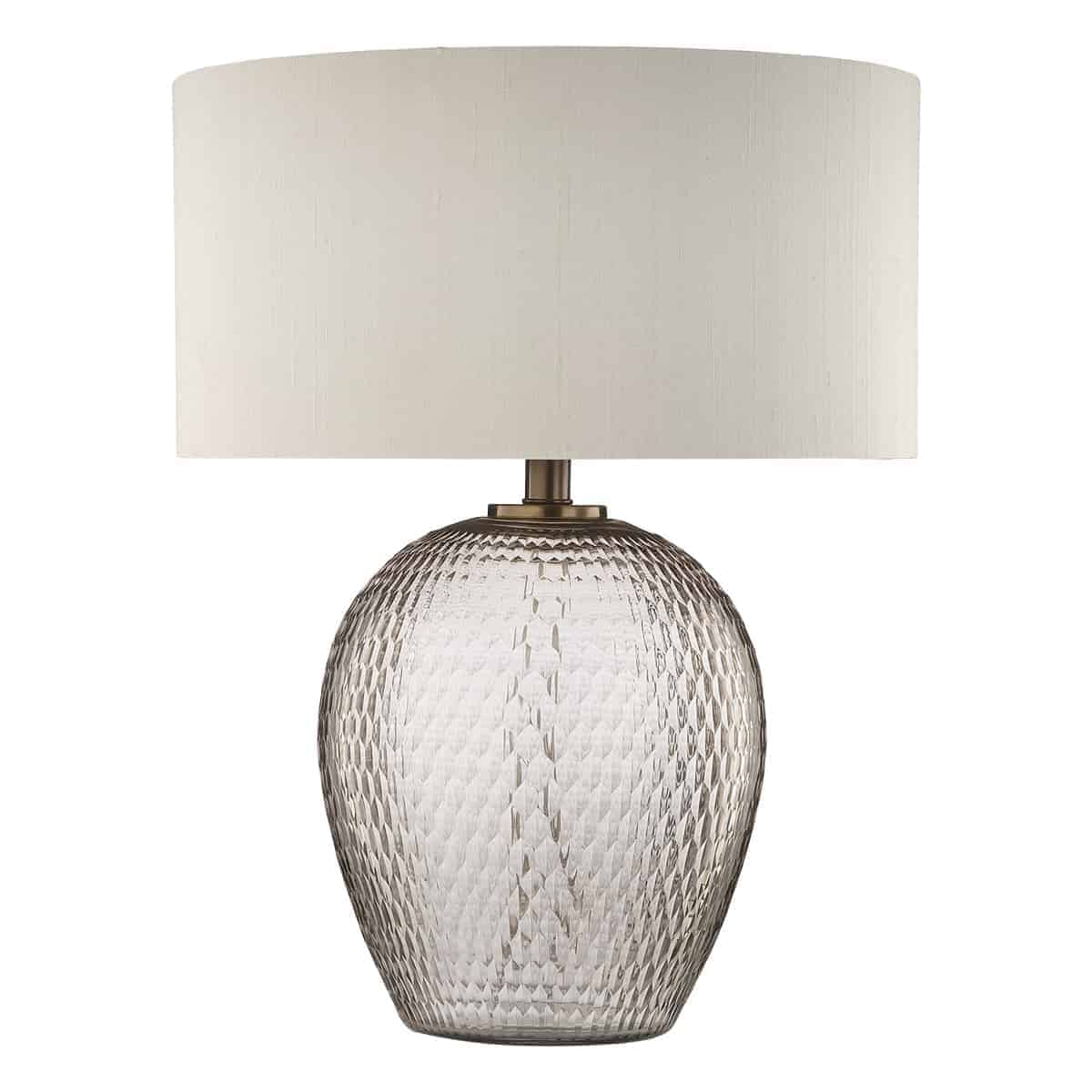 Där ZHA4293 Zhamo Table Lamp Bronze & Glass
