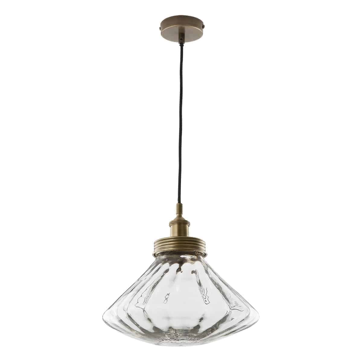Där ZUD0175 Zudora Pendant Antique Brass